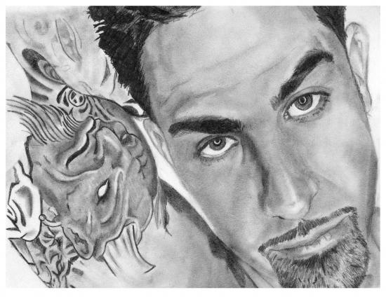 Chris Nuñez by VeronicaVaine